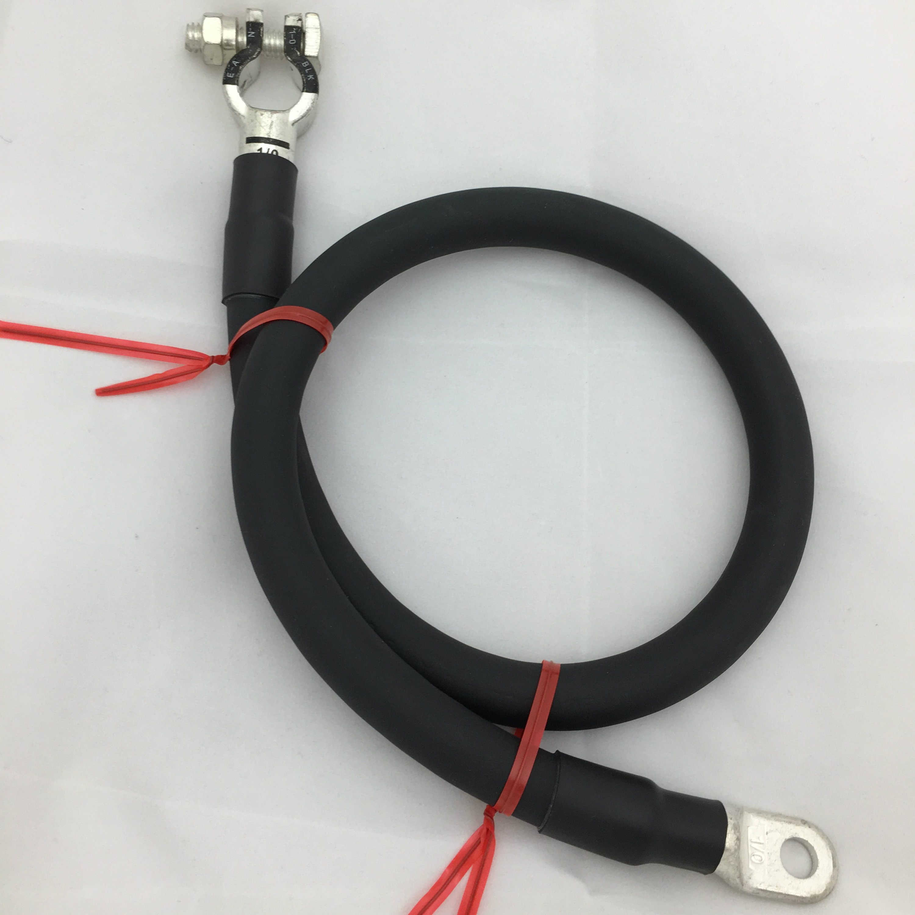 4 Gauge Awg Negative Battery Cable With Top Post Terminal