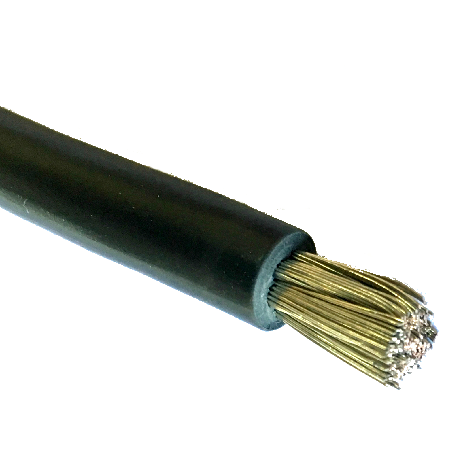 Black Insulated Copper Cable Battery Cable #6 Gauge 1000 USA