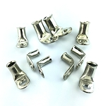90 Degree Bent Lugs - Starter Terminal Connector Corrosion Resistant Copper - Heavy Duty