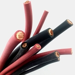 Copper Welding Cable Flexible Rubber SGR Battery Cable SAE J1127 - By the Foot