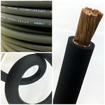 4 Gauge AWG Battery Cable Black - By the Foot