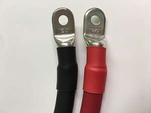 2/0 Gauge 00 AWG Extreme Battery Cable with Ends