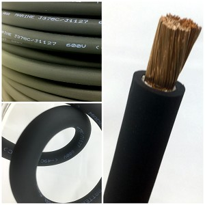 4 Gauge AWG Extreme Battery Cable Black - By the Foot
